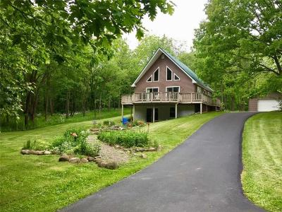 Single Family Home A-Active: 8790 Strong Hill Road