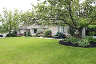 Pittsford Single Family Home Active Under Contract: 20 Merryhill Lane