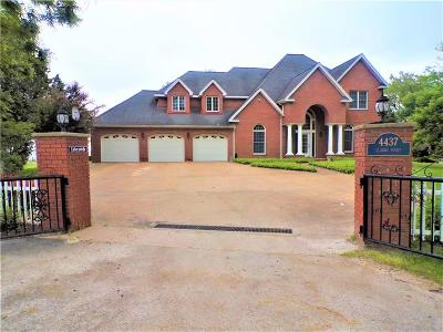 Single Family Home For Sale: 4437 Clarks Point