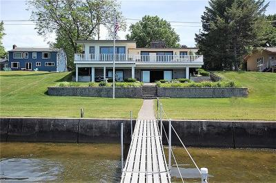 Ashville, Bemus Point, Cassadaga, Celoron, Chautauqua Institution, Findley Lake, Lakewood, Mayville Single Family Home For Sale: 3673 Crestview Road