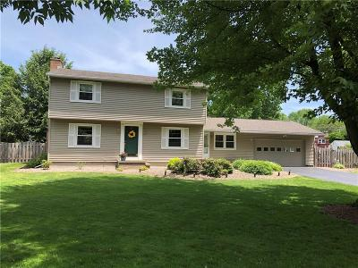 Pittsford Single Family Home U-Under Contract: 36 Musket Lane