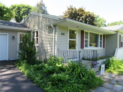 Pittsford Single Family Home For Sale: 43 Winding Road