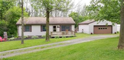 Orleans County Single Family Home A-Active: 16909 Jackson Road