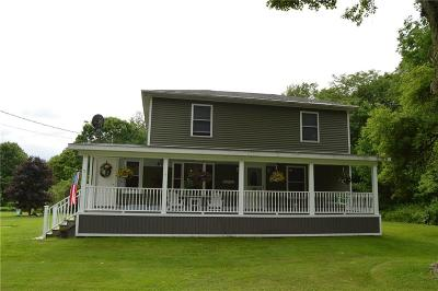 Gerry Single Family Home For Sale: 4549 Harris Hill Road