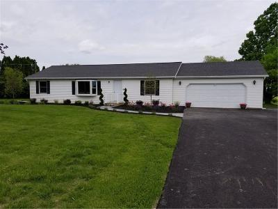 Canandaigua, Canandaigua-city, Canandaigua-town Single Family Home For Sale: 6080 N Bloomfield Road