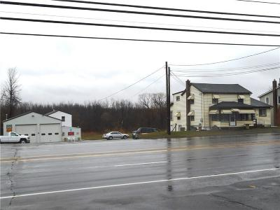 Monroe County Commercial For Sale: 4992 W Ridge Road
