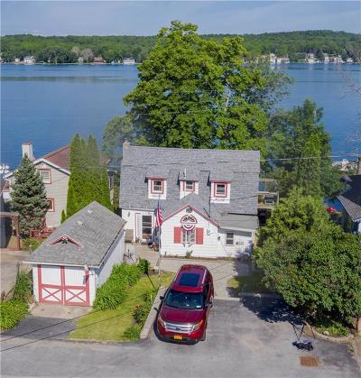 Single Family Home For Sale: 4588 E Lake Road