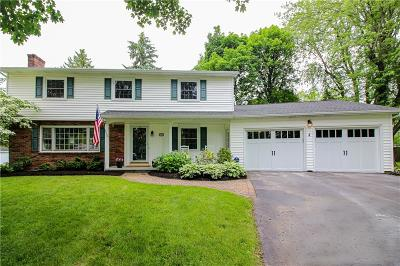 Pittsford Single Family Home For Sale: 4 Sheridan Court