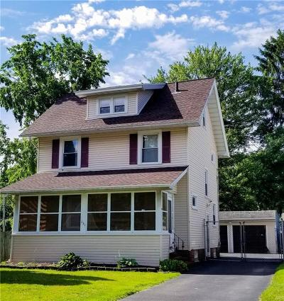 Rochester Single Family Home Active Under Contract: 151 Cheltenham Road