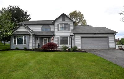 Perinton Single Family Home For Sale: 7 Kingsley Circle