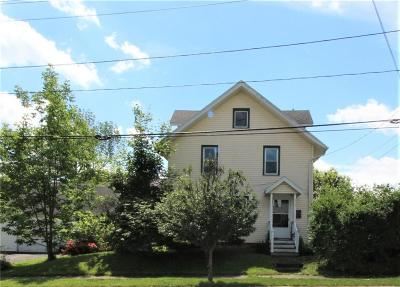 Jamestown NY Single Family Home For Sale: $72,500