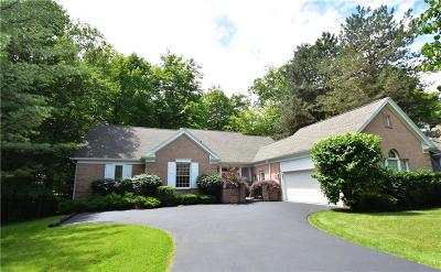 Pittsford Single Family Home For Sale: 55 Woodbury Place