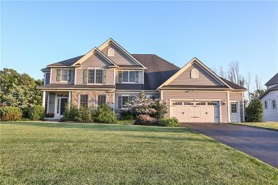 Pittsford Single Family Home For Sale: 4 Amber Hill Drive