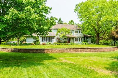 Victor Single Family Home For Sale: 7979 Lookout Knob