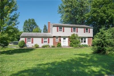 Pittsford Single Family Home For Sale: 75 Railroad Mills Road