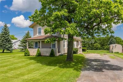 East Bloomfield Single Family Home For Sale: 2015 State Route 444