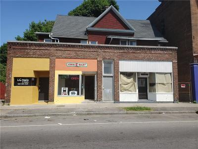 Monroe County Commercial For Sale: 164-168 Genesee Street