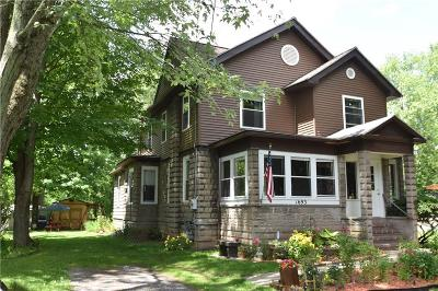 Palmyra Single Family Home For Sale: 1693 Division Street