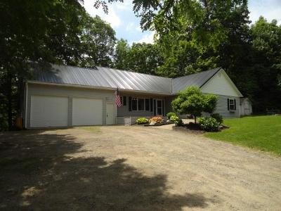 Single Family Home For Sale: 5433 Wells Curtice Road