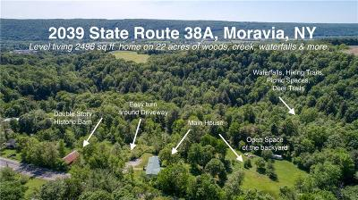 Moravia Single Family Home For Sale: 2039 State Route 38a