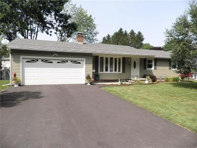 Irondequoit Single Family Home Active Under Contract: 170 Eaton Road