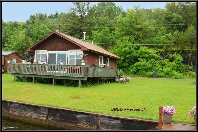 Single Family Home For Sale: 3986 Pine Road