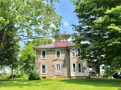 Aurelius NY Single Family Home For Sale: $129,900