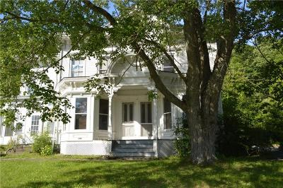 Moravia NY Single Family Home For Sale: $169,900