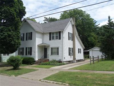 Dunkirk Single Family Home For Sale: 20 Webster Street