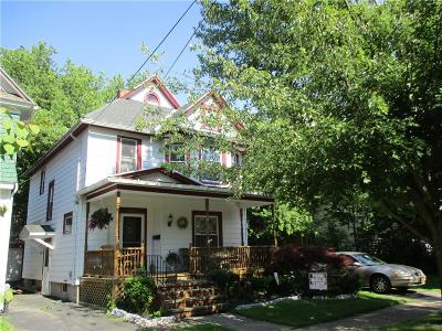 Dunkirk-City NY Single Family Home For Sale: $87,900