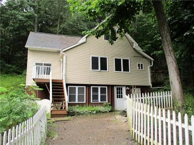 Single Family Home For Sale: 6120 W Lake Road