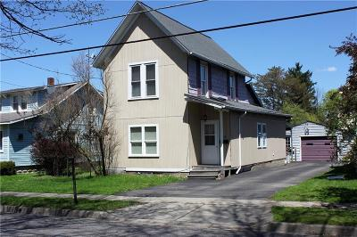 Jamestown NY Single Family Home For Sale: $49,000