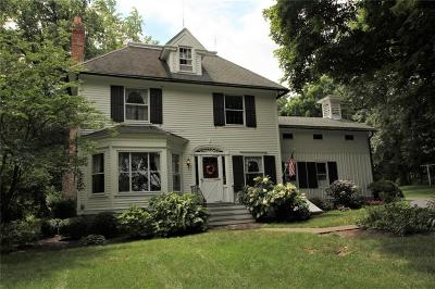 Pittsford Single Family Home For Sale: 597 Mendon Center(Private Drive -hines Road ) Road
