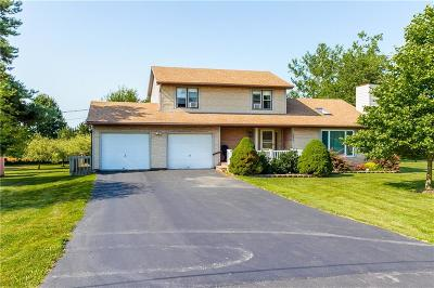 Orleans County Single Family Home For Sale: 14321 W Bacon Road