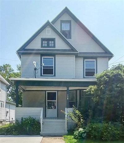 Dunkirk Single Family Home For Sale: 758 Park Avenue