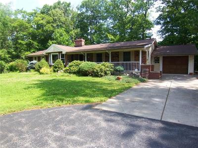 Genesee County Single Family Home For Sale: 1341 Little Falls Road