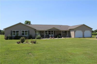 Fredonia Single Family Home For Sale: 10405 Miller Road