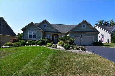 Ontario County Single Family Home For Sale: 15 Rothbury Circle