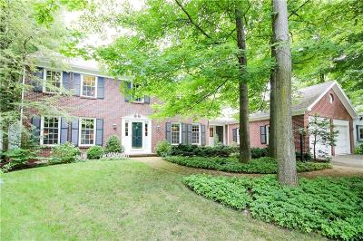 Pittsford Single Family Home Active Under Contract: 43 Oak Meadow