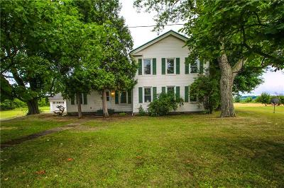 Genesee County Single Family Home For Sale: 5374 Route 5
