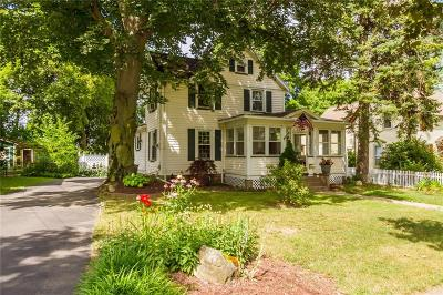 Rochester Single Family Home Active Under Contract: 112 Hillside Avenue