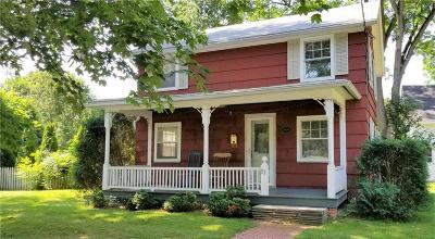 Pittsford Single Family Home For Sale: 83 South Street