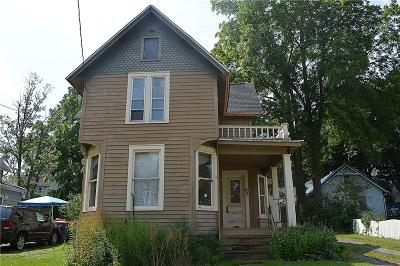 Lockport-City Single Family Home Active Under Contract: 65 Oliver Street