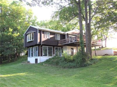 Ontario County Single Family Home Active Under Contract: 9655 Big Tree Road