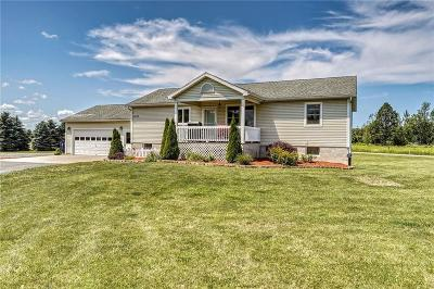 Orleans County Single Family Home For Sale: 4772 Hall Road