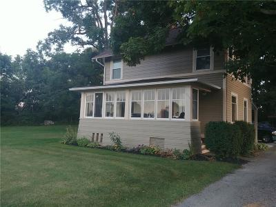 Genesee County Single Family Home For Sale: 2250 Judge Road