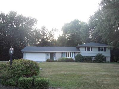 Rush Single Family Home For Sale: 6 Pine Tree Trail