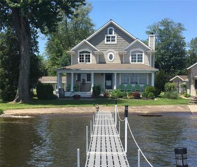 Single Family Home For Sale: 4957 Shore Acres Road