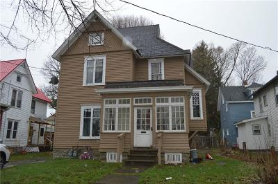 Jamestown NY Multi Family Home For Sale: $23,500