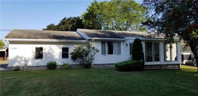 Marion Single Family Home For Sale: 4109 N Main Street